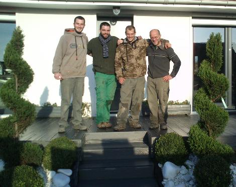 Jardinage et aménagement de jardin Cergy-Pontoise
